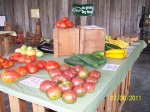 Over 100 varieties of fresh, local vegetables