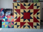 Locally made barn quilts